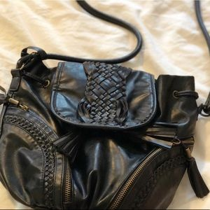 Urban Outfitter Braided Faux Leather Purse